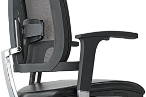 The Balance React Mesh chair features mechanisms to make it a highly comfortable work chair.