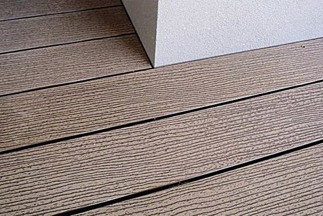 Futurewood's CleverDeck is available in Saltbush, Mahogany, Chocolate, Walnut and Slate Grey.
