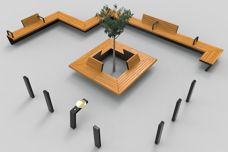 The Oxley Bench System by Mos Urban
