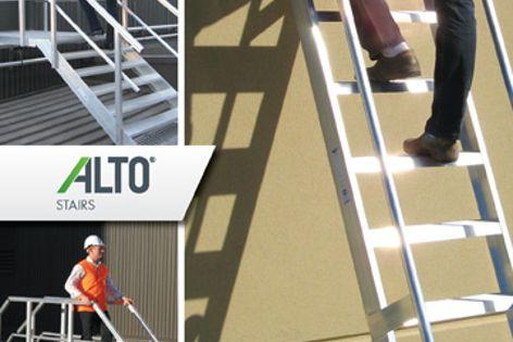 Alto step ladders