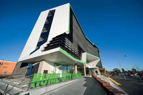 Smartfix products used on the new Hume City Council building.