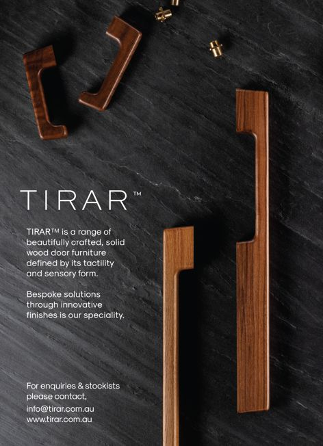 Solid wood door furniture by Tirar