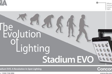 Stadium EVO spot lighting