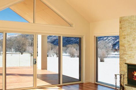 Trend thermAL is available in awnings, casements, fixed windows, and sliding, sliding stacker, bifold and hinged doors.