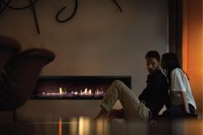 Gas fireplace heaters by Escea