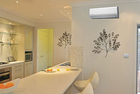 The ASTG range of air conditioners is designed to blend seamlessly with any interior decor.