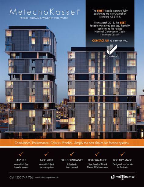 Metecno Kasset facade by Metecno PIR