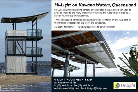 Hi-Light aluminium screens on Kawana Waters
