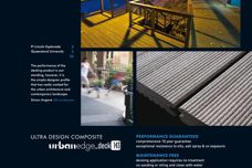 Urban Edge Deck 143 composite decking