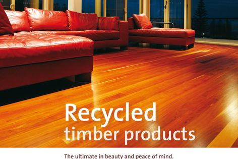 Big River recycled timber products