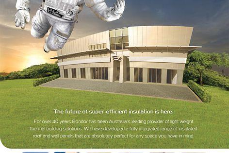 Bondor super-efficient insulation