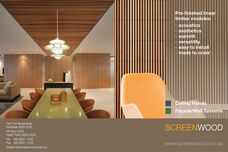 Screenwood timber modules