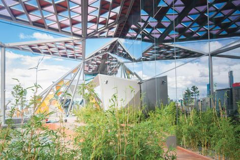 The roof garden at 700 Bourke Street, Melbourne designed by Hassell, a 202020 Vision partner. Photography: Shannon McGrath