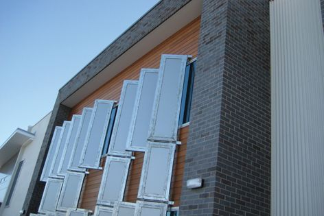 Blue Steel Flash is a striking blue/black brick suitable for facades and features.
