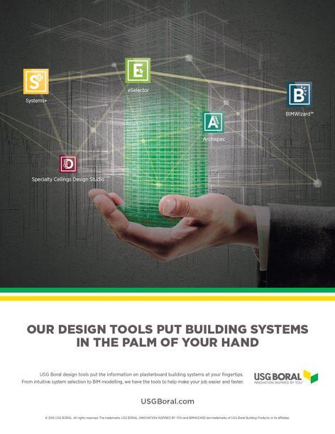 Design tools by USG Boral