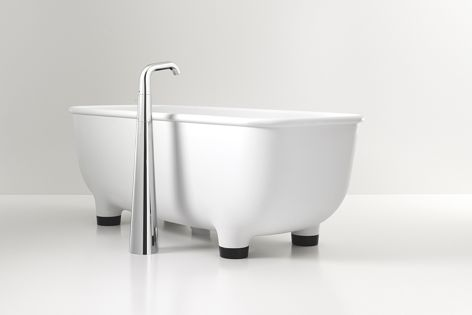 A beautifully resolved bath from the Caroma Marc Newson collection.