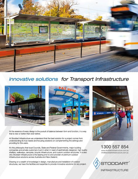 Transport infrastructure solutions by Stoddart