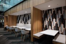 Cube acoustic panels by Autex