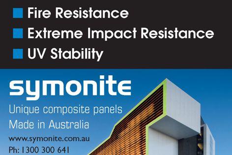Symonite composite panels
