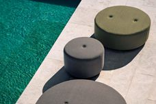 Double Outdoor Pouf by Roda