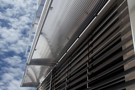 Stoddart perforated products are suitable for use as fencing, screening, shades, awnings, seating, outdoor furniture and building facades.
