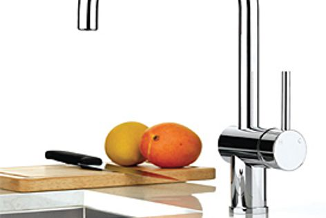 The Pegasi mixer range features water-saving valves, functional design and clean lines.