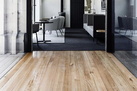 Beautiful and sustainable, Tasmanian Oak flooring from Tasmanian Timber is available in two grades: prime and classic.