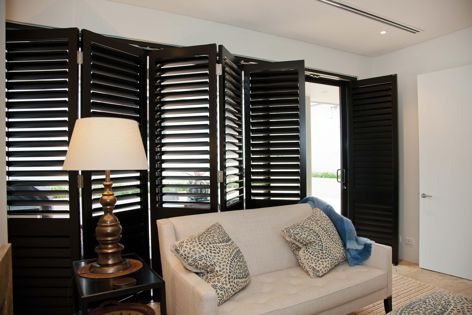 Open Shutters' Ultimate range is crafted from Western Red Cedar.