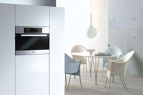 Miele's DG 5061 steam oven retains food's flavour, texture, colour and nutrition.