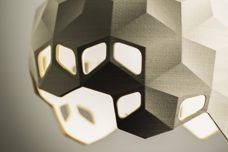 Geo pendant light by LimeLite