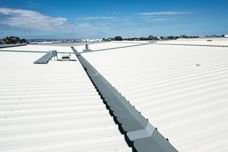 Kingspan insulated gutters used in Perth project