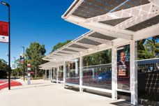 'Smart' bus shelters by Stoddart Infrastructure