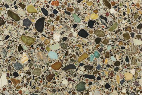 Earth Terrazzo Tiles from Fibonacci Stone