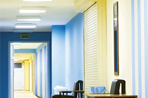 EC08 Complete is a multifunctional plasterboard ideal for use in facilities such as hospitals.