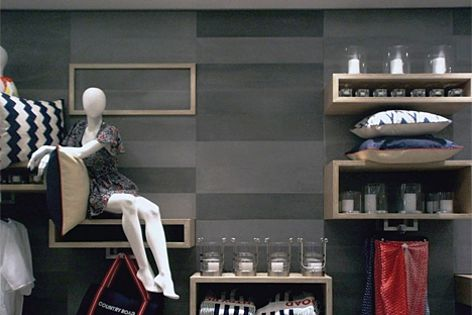 Stonini's Delta panels were selected for this Country Road store in Melbourne.