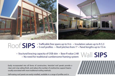 Roof and wall panels by Versiclad