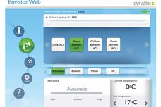 EnvisionWeb app from Philips Dynalite