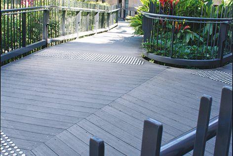 Urban Edge Deck 143 composite decking