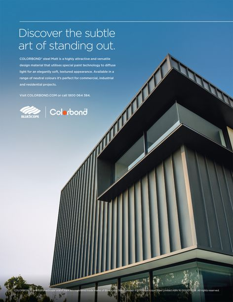 COLORBOND steel in matt from Bluescope