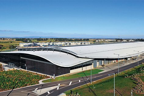 The Craigieburn Train Maintenance Facility near Melbourne uses Hi-Light screening systems.