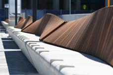 Felix Wave Bench by Mos Urban