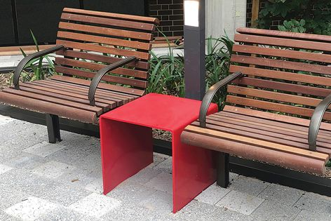 To encourage appropriate social distancing, Stoddart supplies a range of single-seat versions of its most popular styles.
