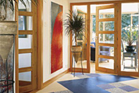 Marmoleum Global 3 Dual tiles give designers a range of flooring options.