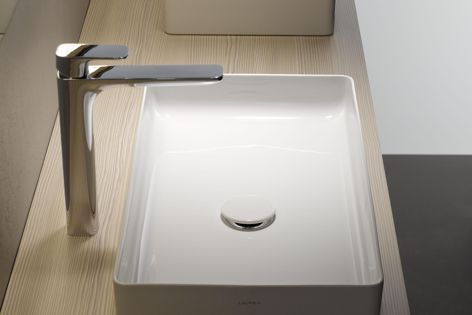Laufen's Cityplus taps are ideal for cosmopolitan living.