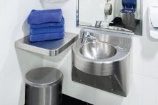 Stainless steel plumbing products by Stoddart