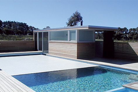 Security, insulation and convenience can be achieved by the Sunbather Security Blanket pool cover.