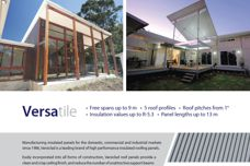 Versiclad insulated roof panels