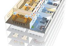 Airstage VR-II system by Fujitsu General