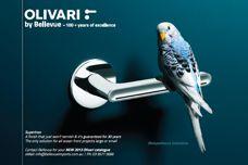 Olivari door handles by Bellevue