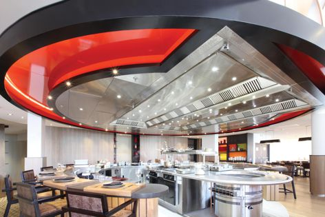 Halton Ventilated Ceiling solutions by Stoddart